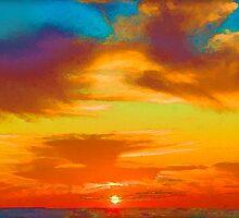 Tie Dye Sky by Scott Evers