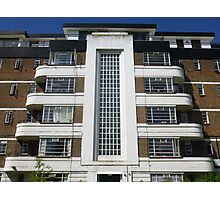 London Deco: High Trees House 2 Photographic Print