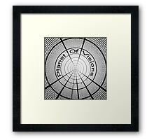 Planet Of Visions Framed Print