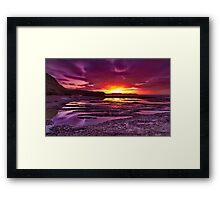 """Jan Juc Ebbtide Dawn"" Framed Print"