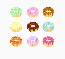 Yummy Pastel Pattern Donuts Doughnuts  Men's Baseball ¾ T-Shirt