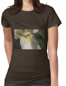 white lilies Womens Fitted T-Shirt