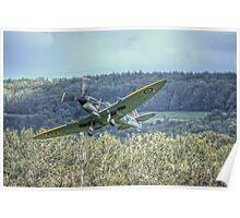 Supermarine Spitfire LF Mk XVIe TD248 Poster
