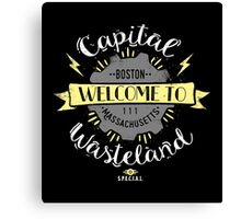 Capital Wasteland Canvas Print