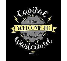 Capital Wasteland Photographic Print