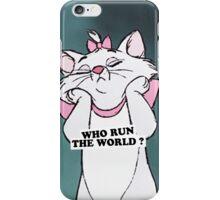 who run the world iPhone Case/Skin