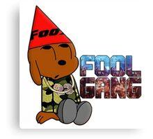Fool Gang Logo 2 Canvas Print