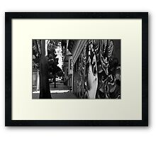 LOVE AND HAIGHT Framed Print