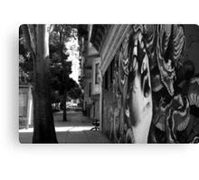 LOVE AND HAIGHT Canvas Print