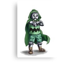 Charlie Von Doom Canvas Print