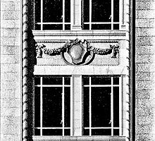 kress building window detail by james smith