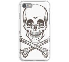 Skull and Bones iPhone Case/Skin