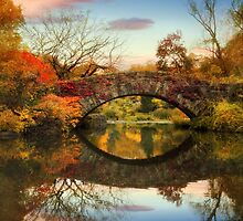 Foliage at Gapstow Bridge by Jessica Jenney