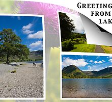Post card from the Lakes  2011 by Elaine123