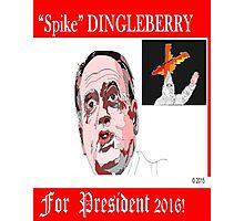 Spike Dingleberry Photographic Print