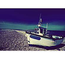 Rolling Blue Photographic Print