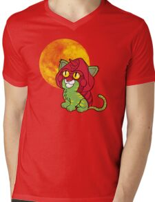 Battlekitty Mens V-Neck T-Shirt
