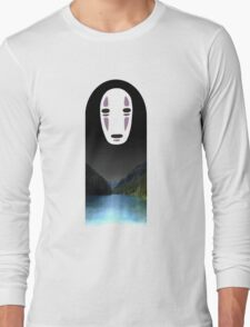 No Face- Spirited Away Long Sleeve T-Shirt
