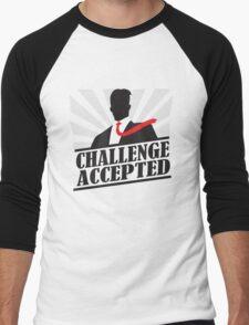 Challeng Accepted Men's Baseball ¾ T-Shirt