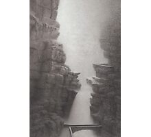 Rorrach's Glen Photographic Print