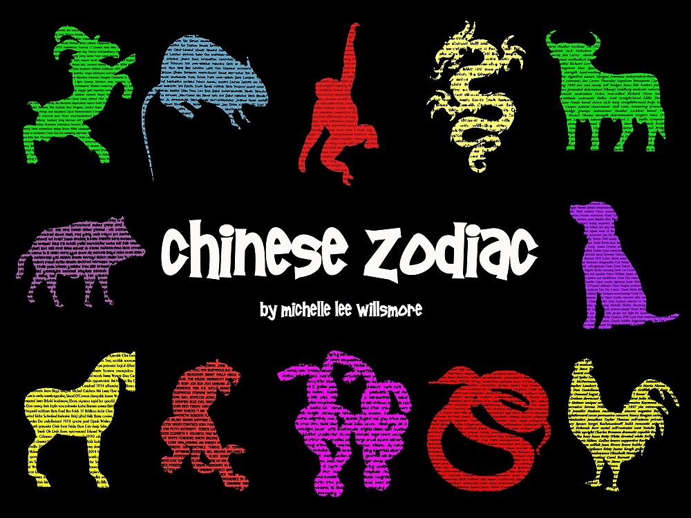 """""""Chinese Zodiac"""" by Michelle Lee Willsmore"""