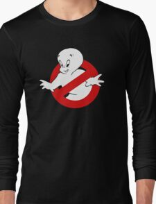Friendly Ghost busters Long Sleeve T-Shirt