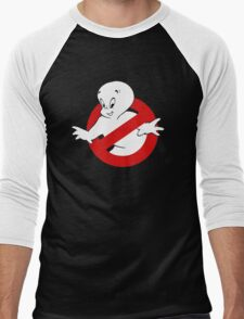 Friendly Ghost busters Men's Baseball ¾ T-Shirt