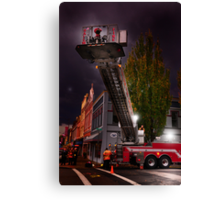 Salem Fire Truck Canvas Print