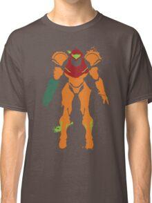 Samus Aran Splattery T Classic T-Shirt