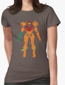 Samus Aran Splattery T Womens Fitted T-Shirt