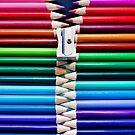 pencil zipper by Michelle McMahon