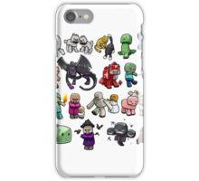 Cute Minecraft Mobs iPhone Case/Skin