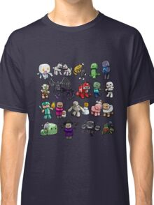Cute Minecraft Mobs Classic T-Shirt
