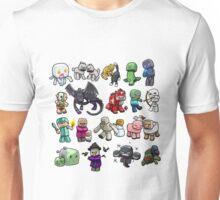 Cute Minecraft Mobs Unisex T-Shirt