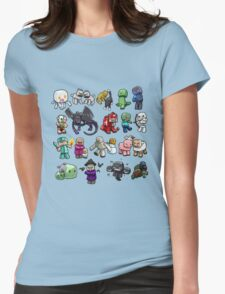 Cute Minecraft Mobs Womens Fitted T-Shirt