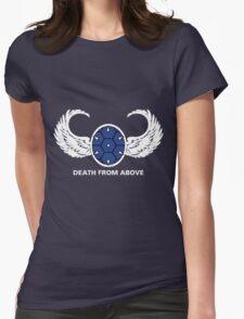 Mario Kart Blue Shell Air Battallion T Womens Fitted T-Shirt