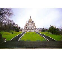 Sacre Coeur Basilica, Paris Photographic Print