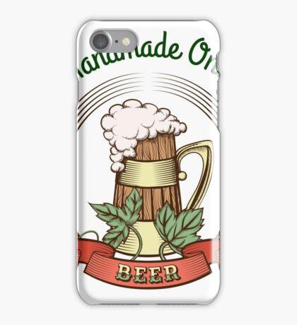 Beer Mug in Vintage Style iPhone Case/Skin