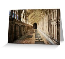 Echo through time Greeting Card