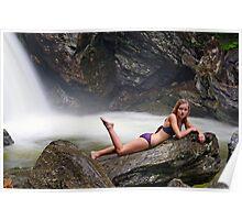 Sage - Bingham Falls Poster