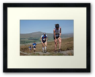 Yorkshire's 3 Peaks Race by SteveFinch