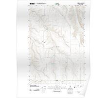 USGS Topo Map Oregon Eightmile 20110903 TM Poster