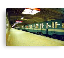 Henri Bourbassa Metro Station  Canvas Print