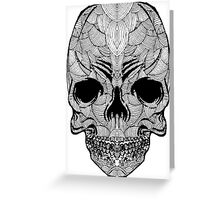 doodle skull Greeting Card