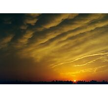 Bronx Sunset Photographic Print