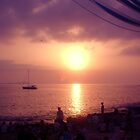Cafe del mar sunset by Miss Dunk