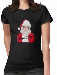 pam claus Womens Fitted T-Shirt