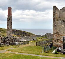 Copper Mine Ruins by Martina Fagan