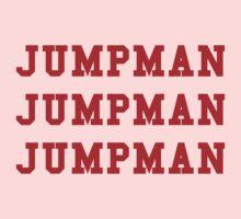 Jumpman Jumpman Jumpman Kids Tee