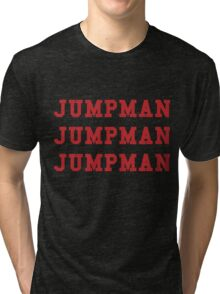 Jumpman Jumpman Jumpman Tri-blend T-Shirt